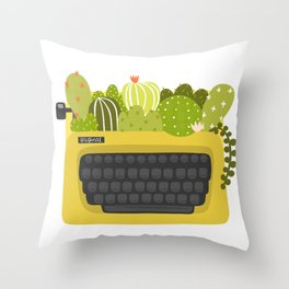 Be Unexpected Throw Pillow