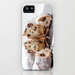 Christmas stollen iPhone Case