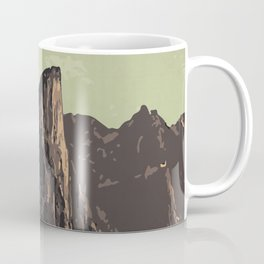 Auyuittuq National Park Coffee Mug