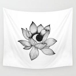 Lotus Moon Wall Tapestry