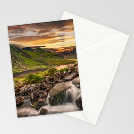 Tryfan and Llyn Ogwen Snowdonia Stationery Cards