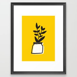 Plant 66 Framed Art Print
