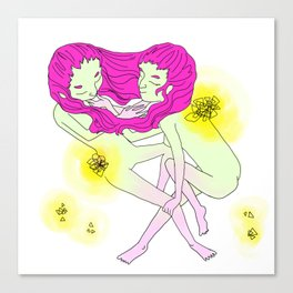 Twin Girl Canvas Print