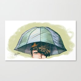 Archie's Umbrella Hat - Archie of Outlandish Canvas Print