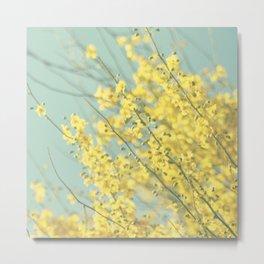 Sunny Blooms 1 Metal Print