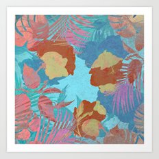 Hawaiian Blue Art Print