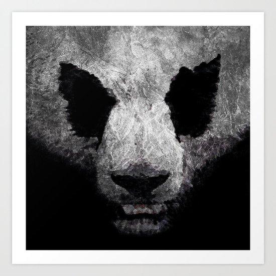 Pandor, God of pandas Art Print