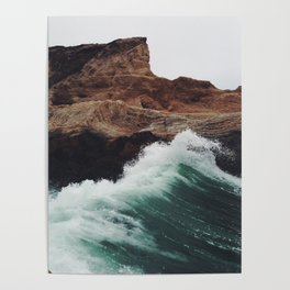Montaña Wave Poster
