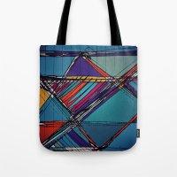 urban Tote Bags featuring Urban by Julia Tomova