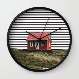 home away from home Wall Clock