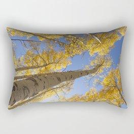 Aspen Colorado Looking Up Rectangular Pillow