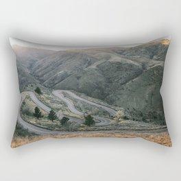 Lookout Mountain Road - Golden, Colorado Rectangular Pillow