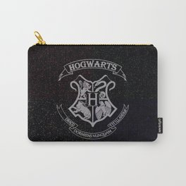 Cosmic Hogwarts Crest HP Carry-All Pouch