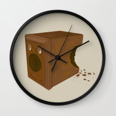 Chocolate Brownie Wall Clock