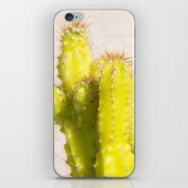 lemon cactus iPhone Skin