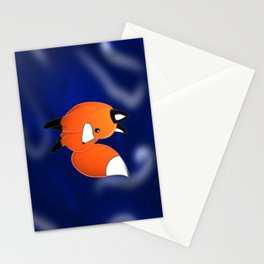 Introducing a fox Stationery Cards