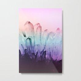 FESTIVAL RAINBOW CRYSTAL Metal Print
