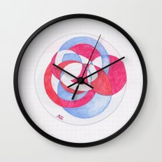 Cirque-cle #1 Wall Clock