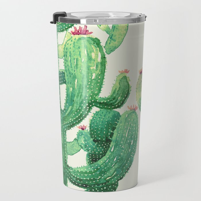 huge twin cactus Travel Mug