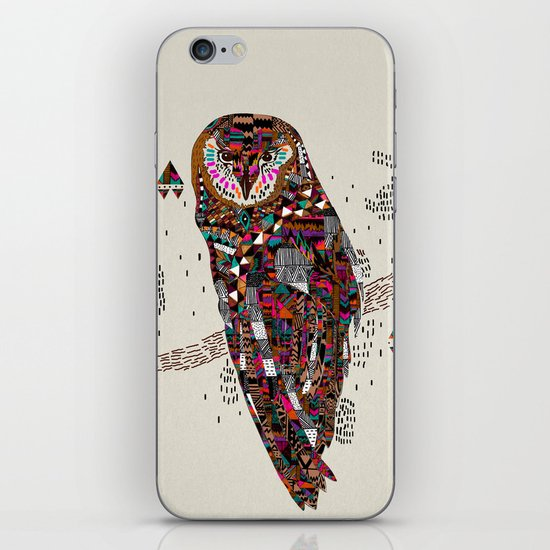HATKEE Collaboration by Kyle Naylor and Kris Tate iPhone & iPod Skin