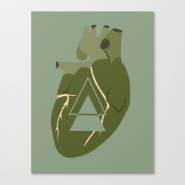 Gaping Triangles Canvas Print