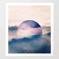 sleep Art Prints featuring sleep. by Monika Traikov