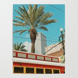 Downtown New Orleans Poster