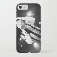 panic at the disco iPhone & iPod Cases featuring Panic At The Disco - Brendon Urie by Lights & Sounds Photography