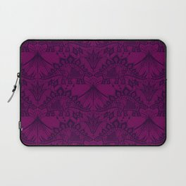Stegosaurus Lace - Purple Laptop Sleeve