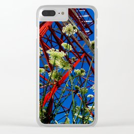 Hot Summer Clear iPhone Case