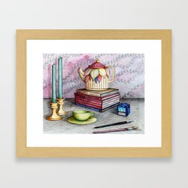 This is the past Framed Art Print