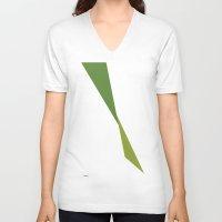 kermit V-neck T-shirts featuring Kermit by Paola Fischer