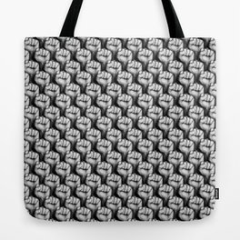 Fight the power / 3D render of raised fists Tote Bag