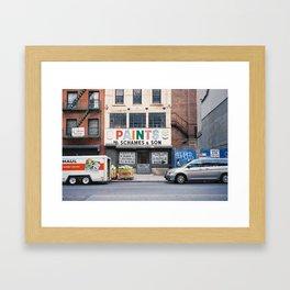 Essex St Framed Art Print