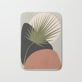 Tropical Leaf- Abstract Art 5 Bath Mat