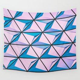 Pattern blue purple Wall Tapestry