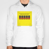senna Hoodies featuring No075 My senna minimal movie poster by Chungkong