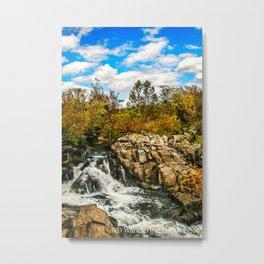 Great Falls #4 Metal Print
