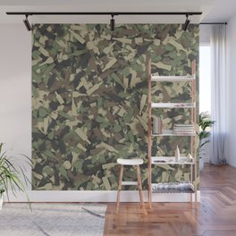 Forest alcohol camouflage Wall Mural