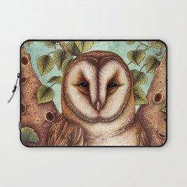 Spring Barn Owl Laptop Sleeve