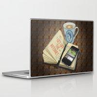internet Laptop & iPad Skins featuring Internet Addict by Sally Renshaw