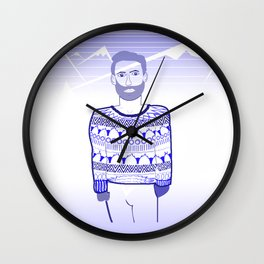 Get cold Wall Clock