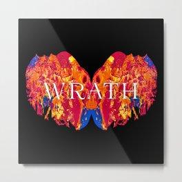 The Seven deadly Sins - WRATH Metal Print