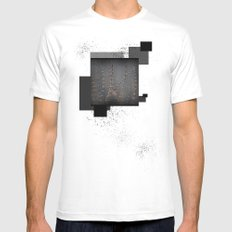 Before The Water  Mens Fitted Tee MEDIUM White