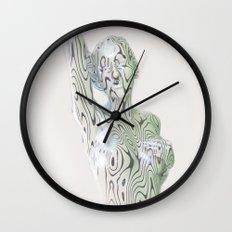 Liz Silver Wall Clock
