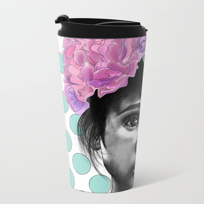 Princesse Paris Rose Metal Travel Mug