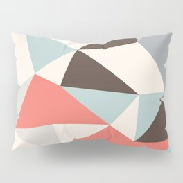 Mod Hues Tris Pillow Sham
