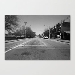 Off Queen - Jones Avenue - North Canvas Print