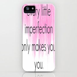Ombre - Pink - A Thing About You - Hunter Hayes iPhone Case