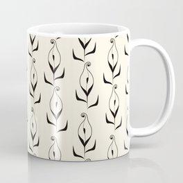 Art Deco No. 47 . Calla . Coffee Mug